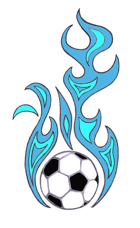 Free Clipart Flaming Soccer by Flaming Soccer Clipart Best