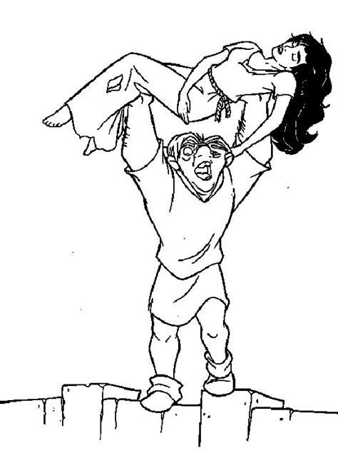 princess esmeralda coloring pages 919 best images about notre dame de on