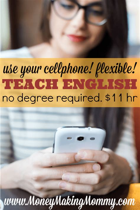 Work From Home Teaching English Online - teach english on your smartphone 11 hr no degree needed