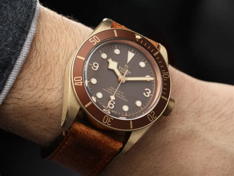 Tudor Black Bay Bronze Zfactory Swiss Eta Ultimate Clone tudor heritage black bay bronze 79250bm on ablogtowatch