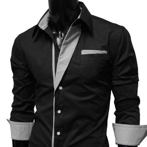 Plain Black Long Sleeve Dress Uk