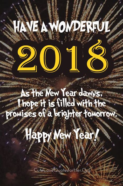 happy new year words in happy new year words quotes wonderful new year 2018