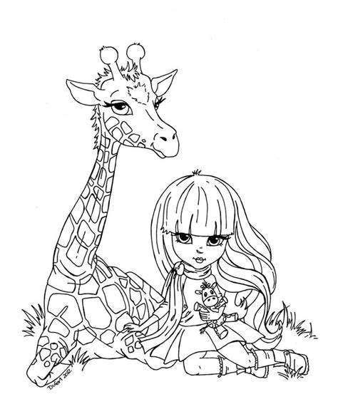 christmas giraffe coloring pages giraffe by jadedragonne printable art coloring pages