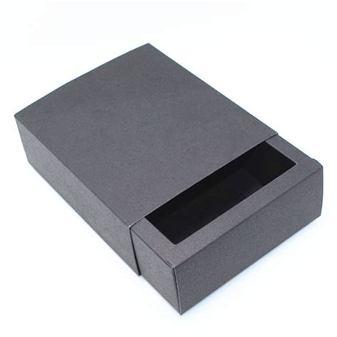 Drawer Boxes by Black Kraft Paper Drawer Boxes Jewelry Wedding