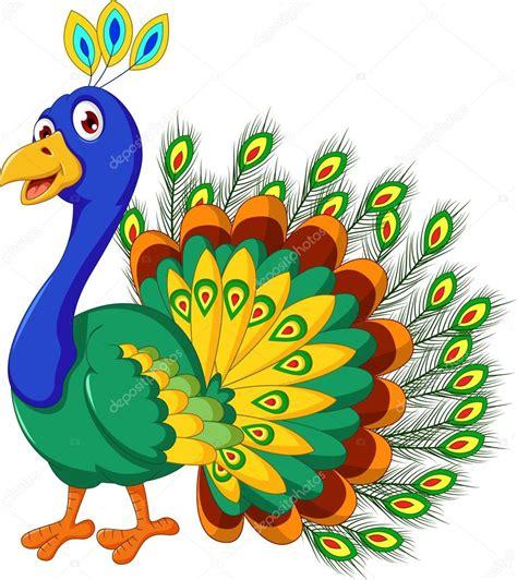 imajenes de dibujo de pavo real para bordar pavo real dibujos animados posando archivo im 225 genes