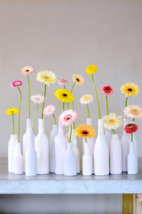 imagenes naturales simples f 225 cil y preciosa decoraci 243 n de cristal reciclado pintado y