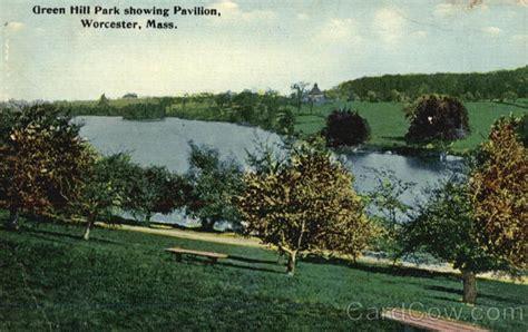 lincoln plaza worcester mass green hill park showing pavilion worcester massachusetts