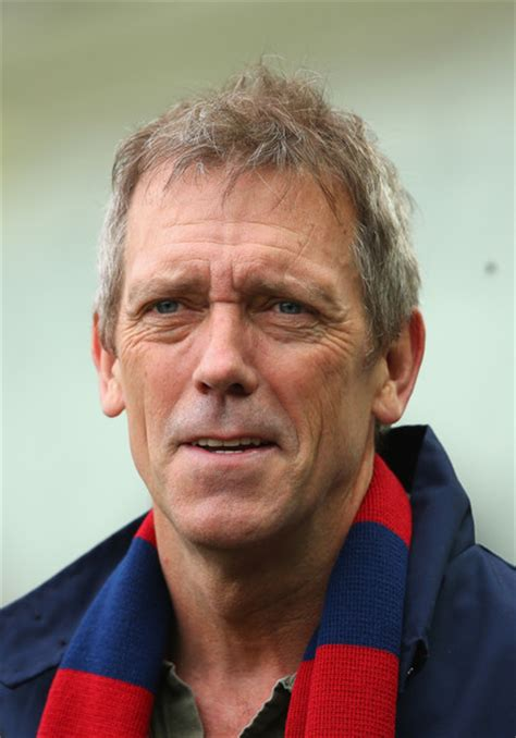 hugh laurie hugh laurie photos photos afl rd 5 melbourne v gold