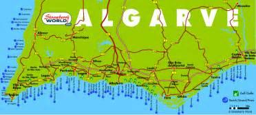 Porches Algarve Map by De Algarve A Holiday In Portugal