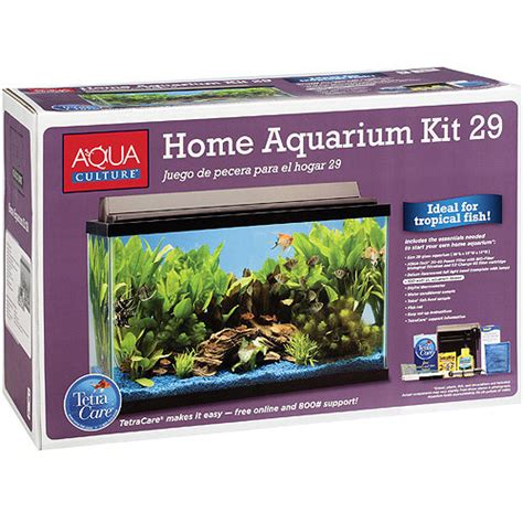 29 gallon fish tank light aquaculture 29 gallon aquarium kit with filter walmart com