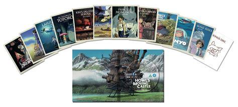 studio ghibli film box set the hayao miyazaki collection blu ray