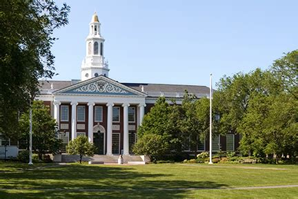 Mba Rental School by Residential Mba Harvard Business School