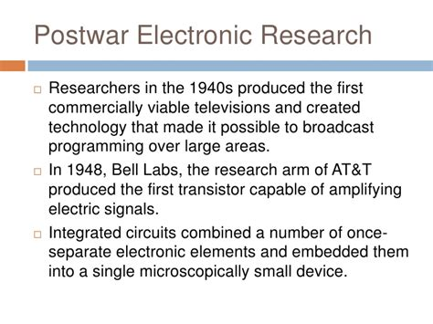 integrated circuits were introduced into computing technology starting in the 28 images
