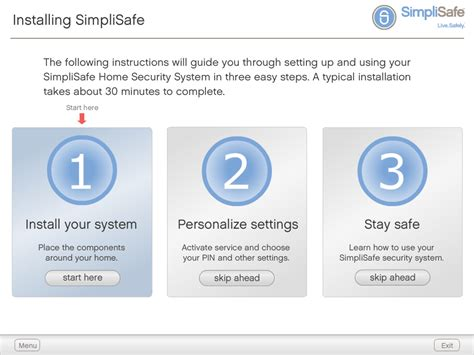 simplisafe home security system the doc s world