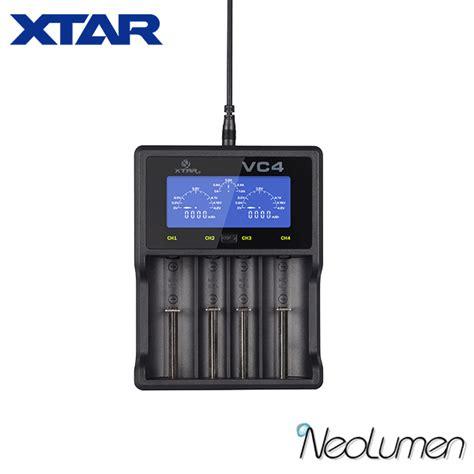Lcd Usb Charger xtar vc4 lcd usb charger 537 xtarvc4usb nimh li ion