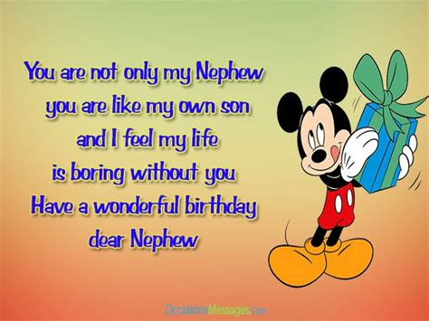 wishes to my birthday wishes for nephew from occasions messages