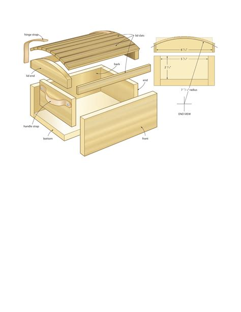 diy how to make a easy wooden chest for kids plans free