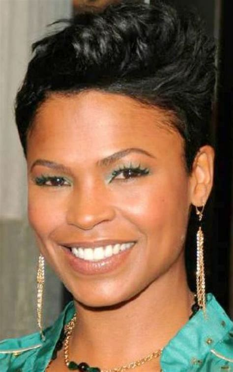 black short haircuts in the top and long in the back short hair for black women cool hairstyles