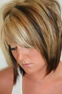 bob hair with high lights and lowlights 25 short haircuts and colors short hairstyles 2016