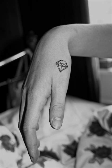 diamond tattoo placement i want a small diamond tattoo for a few reasons 1 the
