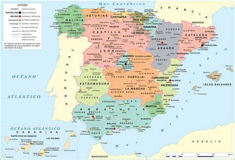 Barcelona Y Madrid Mapa