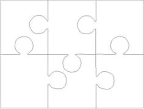 6 jigsaw template jigsaw template 6 clipart best