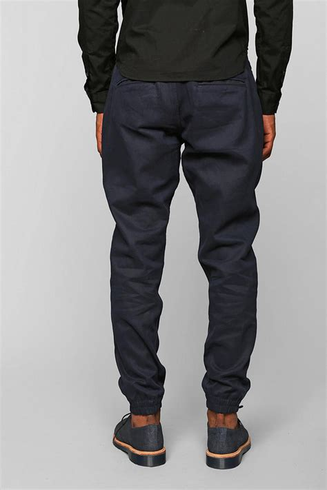 Classic Jogger Pant By Secretroom timberland classic jogger pant in blue for lyst