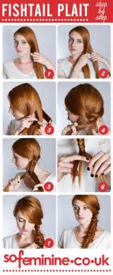 how to do braid hairstyle stepby images how to do a fishtail plait step by step fishtail braid