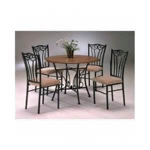 Metal Kitchen Table Sets Wood And Metal Dining Room Tables Kitchen Dinette Sets Upholste