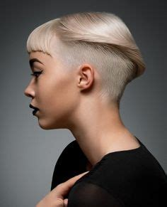 woman short hair cut with a defined point in the back 1000 images about hair on pinterest short hair styles