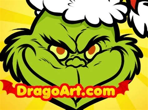 how to draw grinch youtube how to draw the grinch easy the grinch who stole christmas step by step youtube