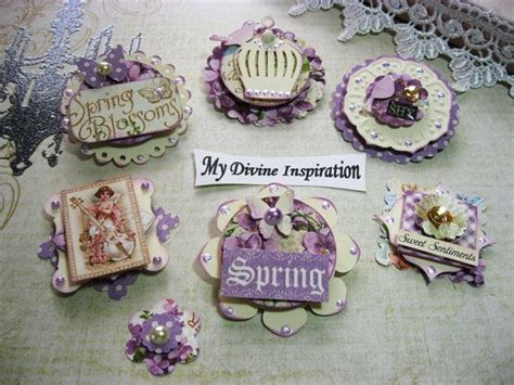 Handmade Embellishments For Scrapbooking - 17 best ideas about scrapbook paper flowers on