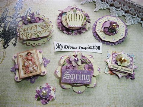 Handmade Scrapbook Embellishments - 17 best ideas about scrapbook paper flowers on