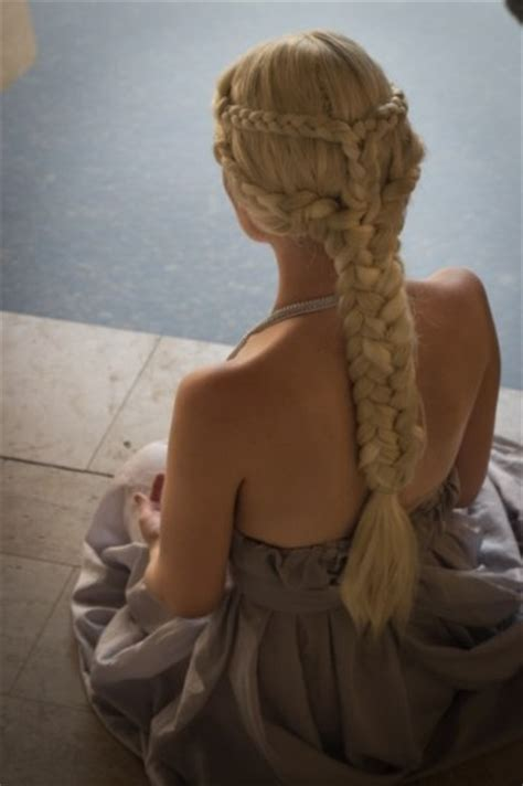 daenerys targaryen hair styles khaleesi game of thrones hair for a tutorial
