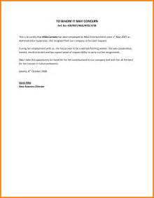 Request Letter Employer Sle Reference Letter For Employment From Previous Employer The Letter Sle