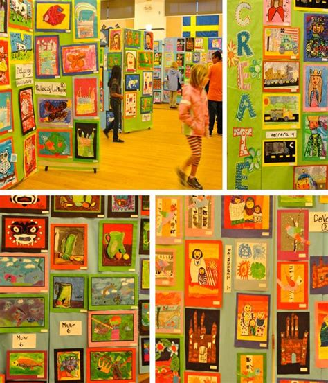 art display ideas art show 101 and guidebook letter to students an and