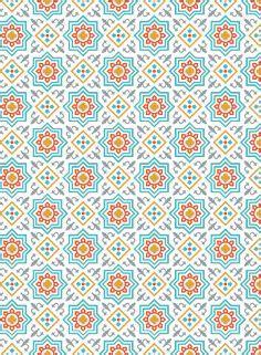 motif ramadhan pattern seamless pattern vintage decorative elements hand drawn