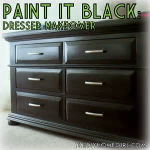 paint it black furniture repainting stage 2 the diy