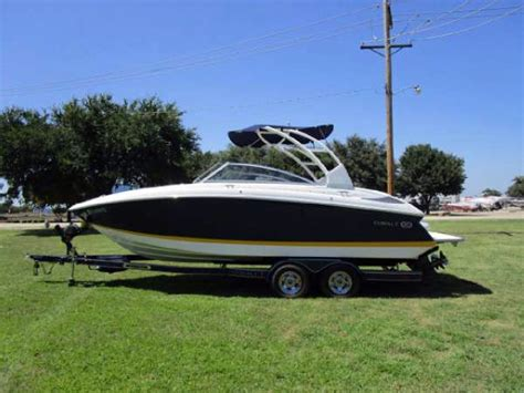 yellow cobalt boat for sale 2013 used cobalt boats 242 bowrider boat for sale