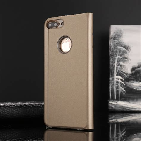 Iphone 6 6s Mirror Cover Hello Stand Holder Casing Cover luxury mirror view flip stand phone cover for iphone 6 6s 7 8 plus x ebay