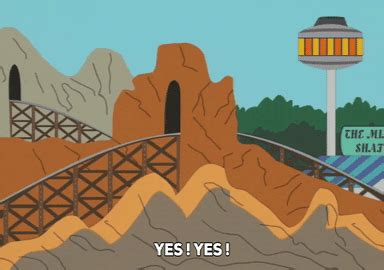 Excited Amusement Park Gif By South Park Find Share On South Park Amusement Park