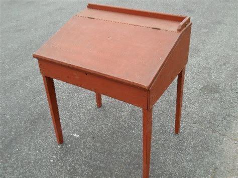 antique slant top desk for sale antique pine hepplewhite slant top desk red paint va