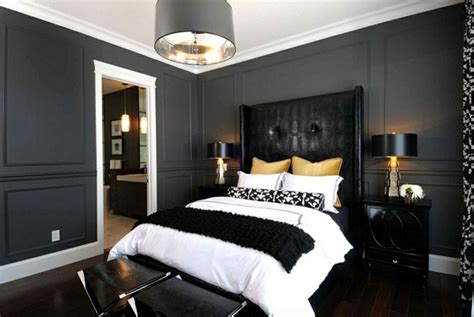 interior color for bedroom bold bedroom color ideas with black and white accents