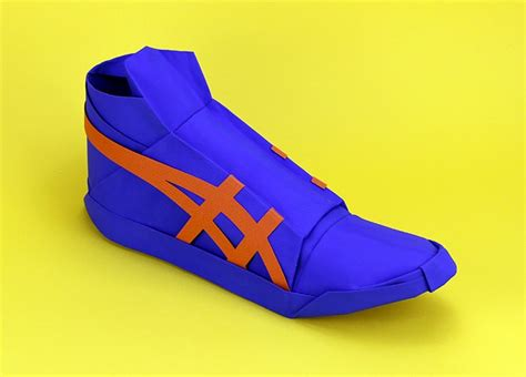 Basketball Origami - if you don t these origami shoes then you probably