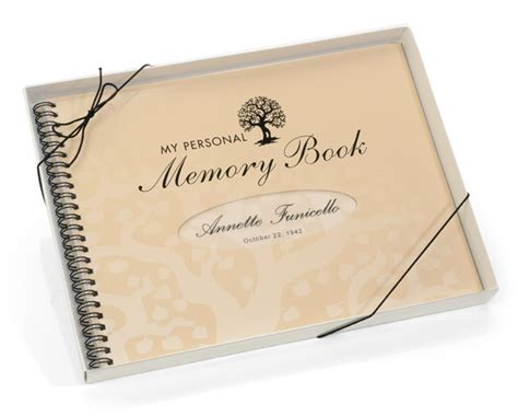 memorial picture book my personal memory book a truly memorable birthday gift