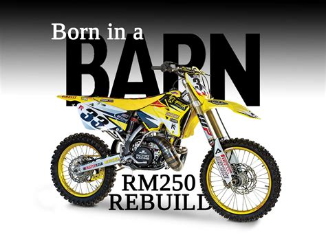 buy motocross from barn find to racer rm250 2 stroke dirt bike magazine
