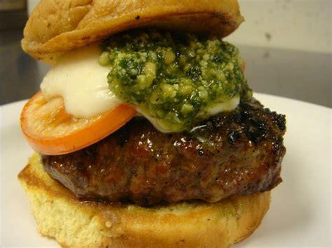 pesto burger recipe list salewhale ca