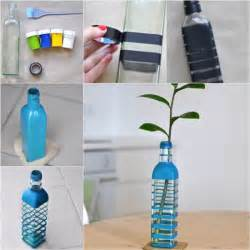 how to diy vase from recycled glass bottle