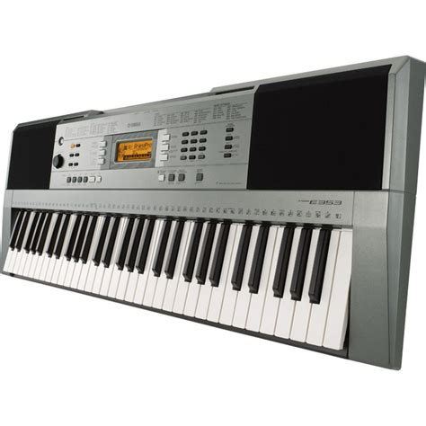 portable keyboard bench yamaha psre353 portable keyboard with stand bench and headphones at gear4music com