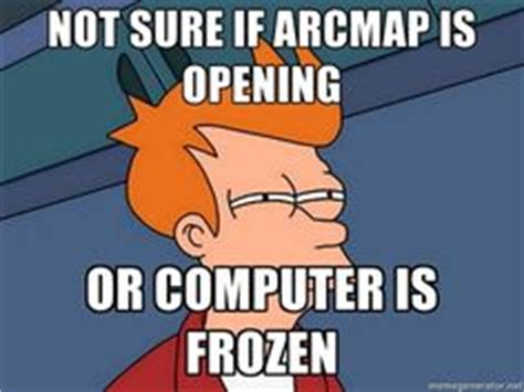 arcmap 171 geography is everything almost finish the work the arcmap crashed sounds